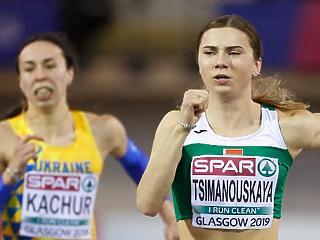 Varsó helyett inkább Bécsbe repült a fehérorosz sprinter, aki lengyel humanitárius vízumot kapott