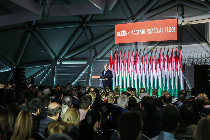 A Fidesz kampányindító rendezvénye (Fotó: fidesz.hu)