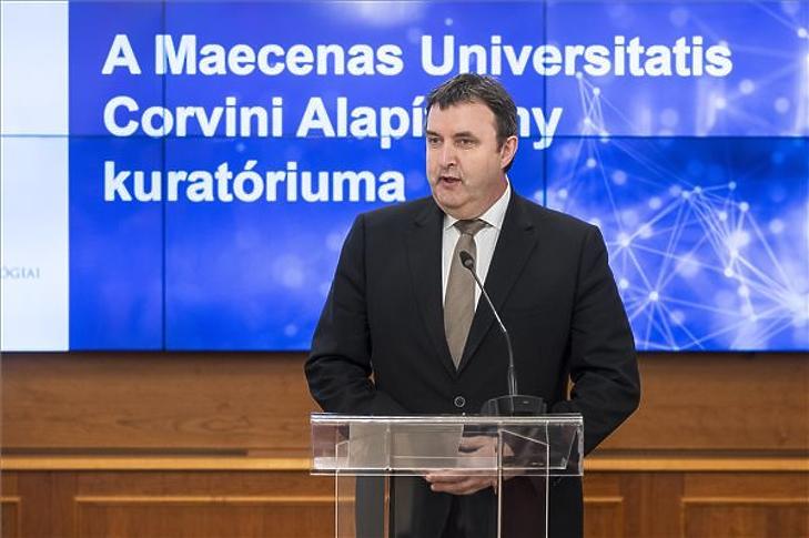 Palkovics László az eseményen. (Fotó: MTI/Mónus Márton)