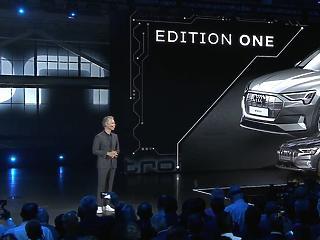 Az Audi bemutatta a Tesla-gyilkosnak szánt kocsiját