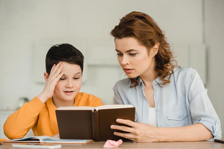 Szülői segítség nélkül szinte lehetetlen. Fotó: Depositphotos