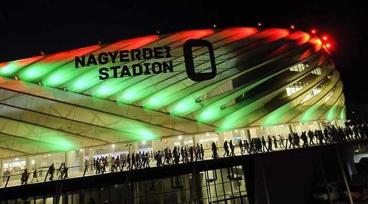 Az egyetem a debreceni stadiont üzemeltető cégben is tulajdonos Fotó: MTI