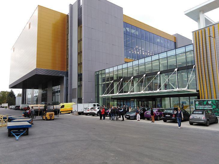 Az új kongresszusi központban egyszerre több nagy rendezvény is lebonyolítható (fotó: Mester Nándor)