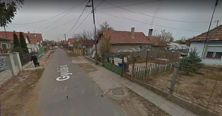 Nagysándortelepi utcakép (Fotó: Google)