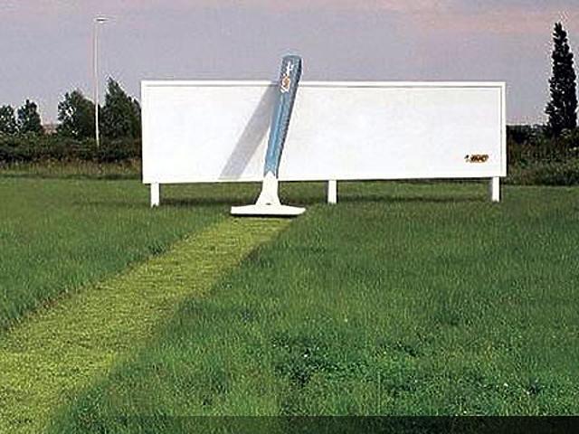Innovatív reklámok