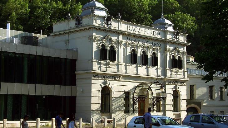 A Rác fürdő épülete (Fotó: MTI/Jászai Csaba)