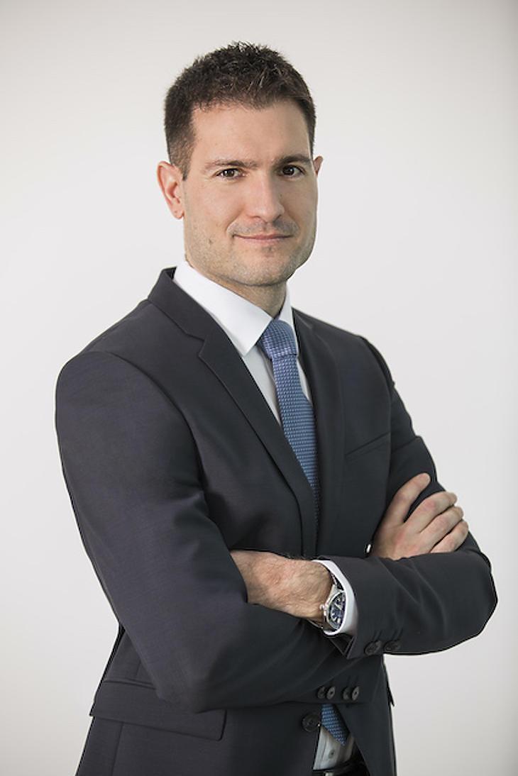 Hosszú Ferenc, az OTP Alapkezelő Zrt. befektetési igazgatója. Fotó: OTP
