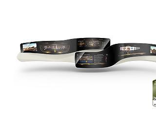 Űrhajóéhoz hasonlít az autós csodaműszerfal: csak az látható rajta, amire éppen szükség van
