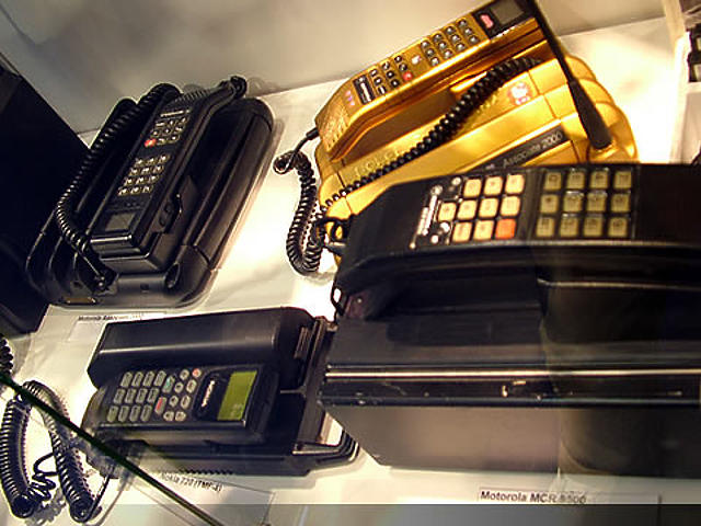 Már történelem - régi mobiltelefonok