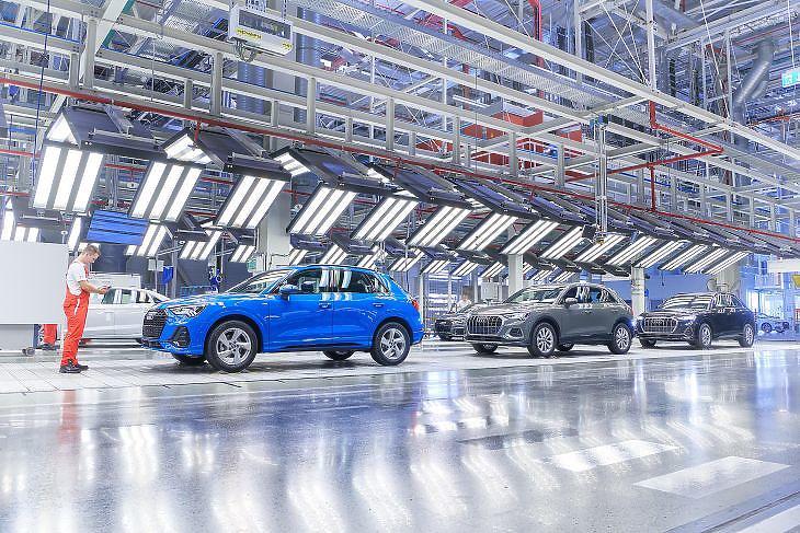 Az Audi győri gyára. (Forrás: Audi Hungaria Zrt.)
