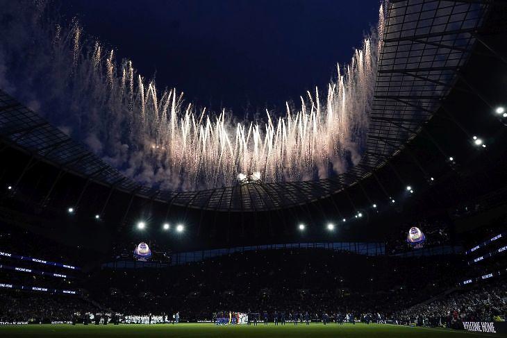 A Tottenham új stadionja. (EPA/WILL OLIVER)