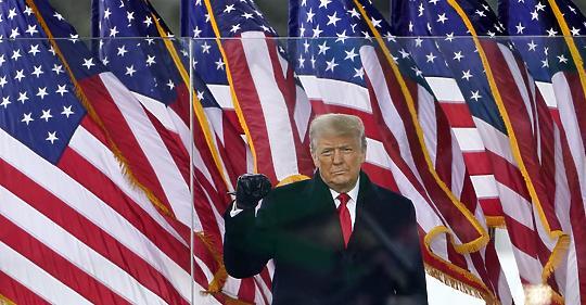 """Trump a búcsúbeszédében: """"a mozgalom, amelyet elindítottunk, csak a kezdet"""""""