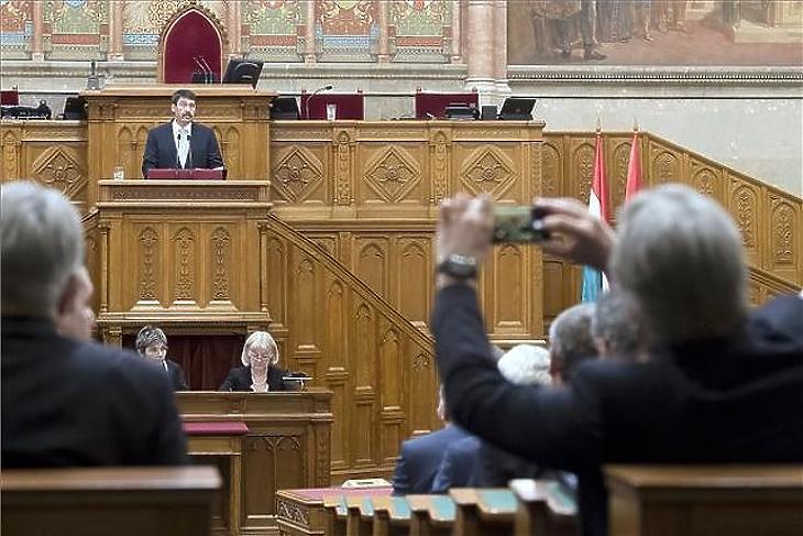 A parlament hamarosan tárgyalja az előterjesztést