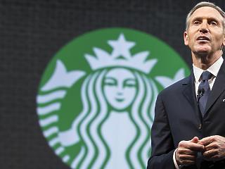 Bejelentkezhet Trump székéért a Starbucks volt vezére