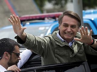 A szélsőjobbos Bolsonaro nyerte a brazil elnökválasztást