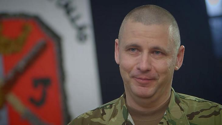 Ruszin-Szendi Romulusz, az új parancsnok (fotó: MTI)