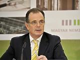 A volt jegybankelnök, Simor András búcsút vett az EBRD-től