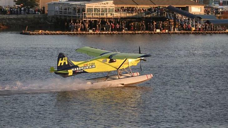 Levegőben az első elektromos repülő. (Forrás: Harbour Air/ magniX)