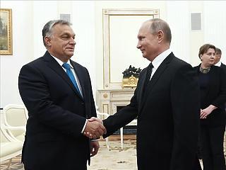 Orbán Putyinnak: az önnel való találkozónak nagy jelentősége van a magyar politikában