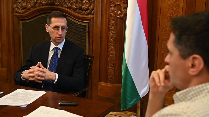 Varga Mihály: Jelenleg nem tervezünk módosítást a MÁP Plusz feltételein (Fotó: Bánkuti András)