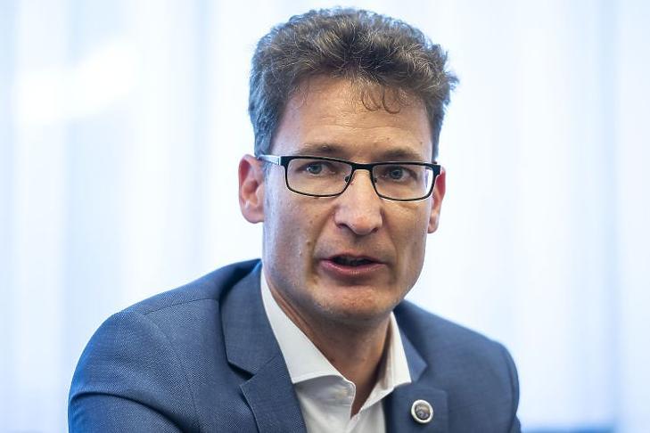 Cser-Palkovics András (Fotó: MTI/Bodnár Boglárka)
