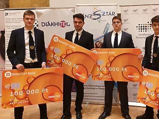 Pécsi gimnazisták nyerték az idei PénzSztár versenyt