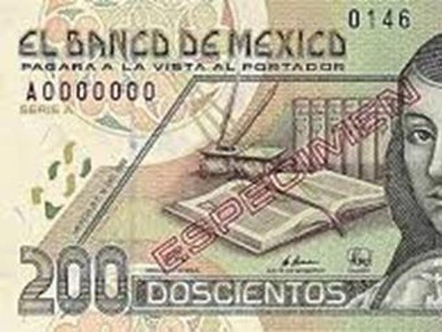 200 peso - Mexikó