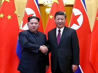 Pekingben tárgyalt Kim Dzsong Un