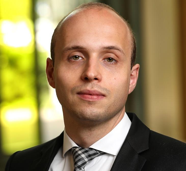 Pekár Dávid, a Raiffeisen Alapkezelő portfoliómenedzsere
