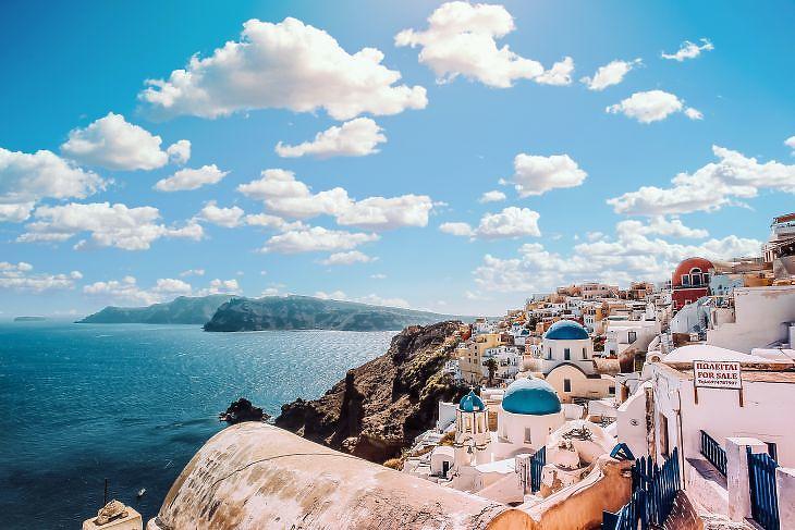 Szantorini, Görögország. ( Pexels/Aleksandar Pasaric)