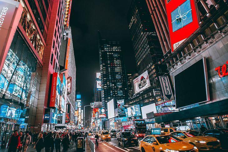 New York, Times Square. ( Pexels/Yuting Gao)