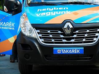 Bővíti az ATM-es kisbuszflottáját a Takarék Csoport