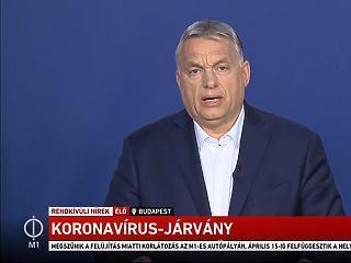 6 rendkívüli intézkedést jelentett be Orbán Viktor