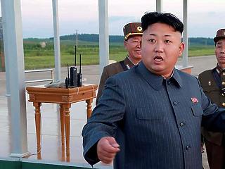 Kim Dzsong Un olyat mondott, hogy Trump majd leesett a székről