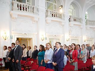 Arany fokozatú díjat vett át Mészáros Lőrinc