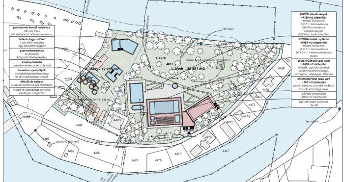 Panoráma medence és sportközpont is elfér