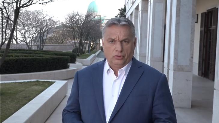 Orbán Viktor (Forrás: a miniszterelnök élő Facebook-videója)