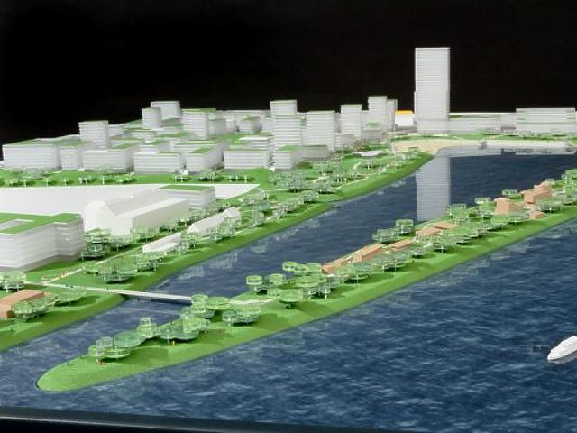 Új városrész épül a Dunaparton