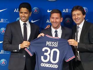 A PSG rajongói kriptozsetonnal is fizetett Messinek az átigazoláskor