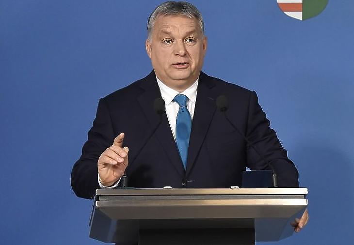 Orbán Viktor. Fotó: MTI