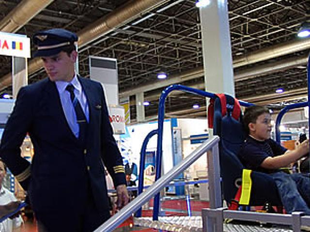 Agisys repülőgép-szimulátor