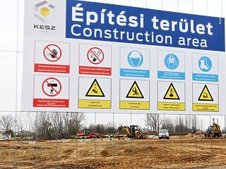 40 százalékkal nőtt az építőipar teljesítménye