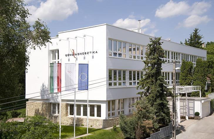 Az Istenhegyi Géndiagnosztikai Központ épülete.