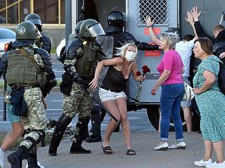 Durvul a helyzet Fehéroroszországban