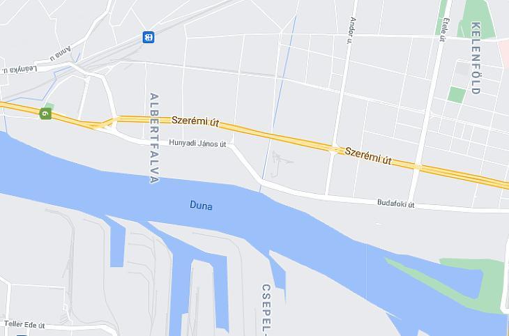 Ezen a lágymányosi területen jelenhetnek meg további ingatlanberuházások (fotó: googlemaps)