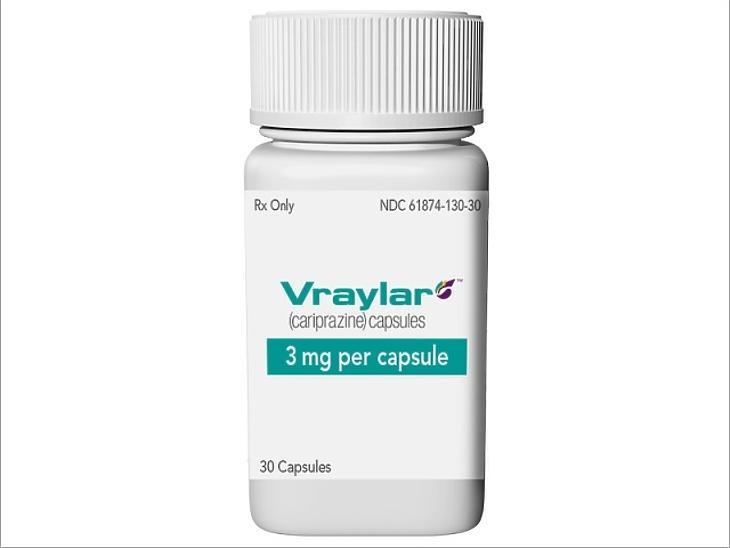 A cariprazine-t az USA-ban Vryalar néven forgalmazzák.