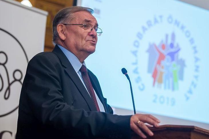 Lezsák Sándor (MTI/Balogh Zoltán)