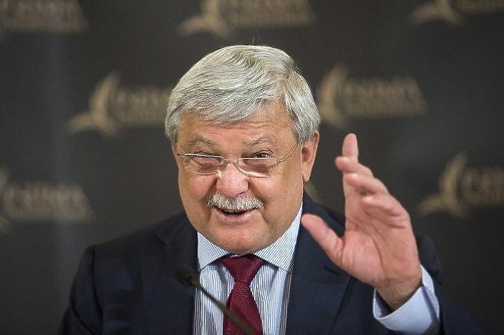 Csányi Sándor, az OTP elnök-vezérigazgatója.