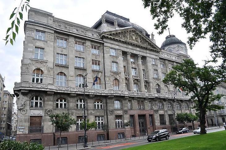 A Belügyminisztérium jelenlegi épülete