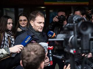 Lenyomta Ficoékat a jobboldali ellenzék a szlovákiai választáson